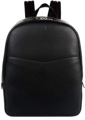 Dunhill Leather Double Zip Backpack