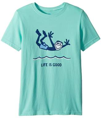 Life is Good Cannonball Jake Crusher Tee Boy's T Shirt