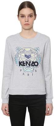 Kenzo Embroidered Classic Cotton Sweatshirt