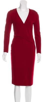 Emilio Pucci Bodycon Midi Dress Bodycon Midi Dress