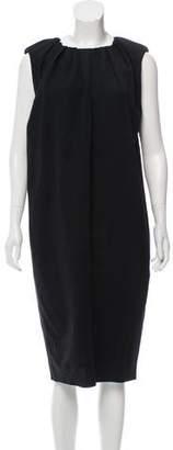 Lanvin Wool Midi Dress