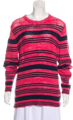 The Elder Statesman Striped Cashmere Sweater