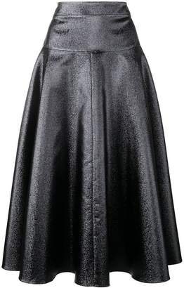 Osman flared midi skirt