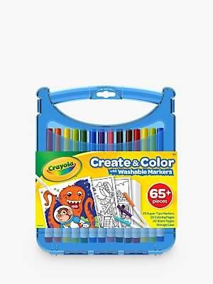 Crayola Supertips Washable Marker Set