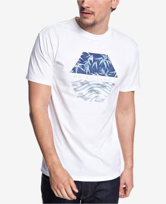 Quiksilver Men Bamboo Breakfast Graphic T-Shirt