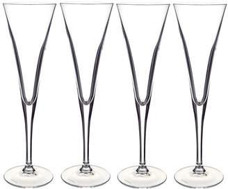 Villeroy & Boch Purismo Flute Glasses (Set of 4)