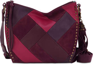 The Sak Silverlake Patchwork City Leather Crossbody, Created for Macy's