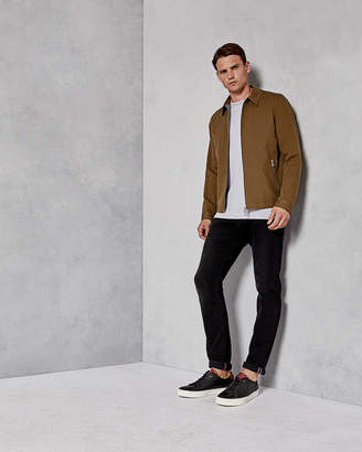 Ted Baker ALTOE Zipped cotton jacket