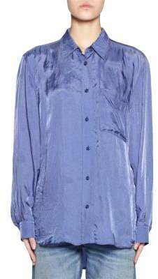 Acne Studios Cupro Collared Shirt