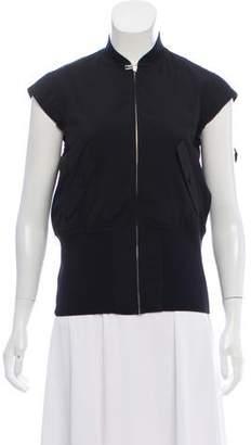 Veronique Branquinho Wool Zip-Up Vest