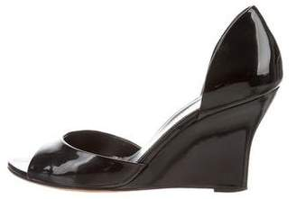 Gucci Patent Leather d'Orsay Wedges