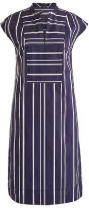 J.Crew J. CREW Easy Stripe Poplin Tunic Dress