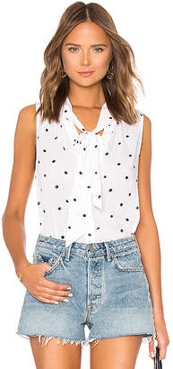 Bella Dahl Sleeveless Tie Neck Top