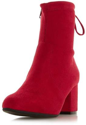 Dorothy Perkins Womens *Head Over Heels Red 'Oakley' Ladies Heeled Ankle Boots