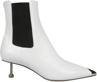 Maison Margiela Screw Kitten Heel Ankle Boots