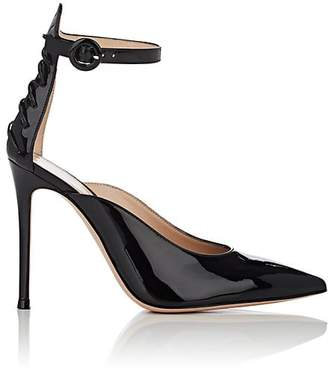 Gianvito Rossi Women's Patent Leather Ankle-Strap Pumps