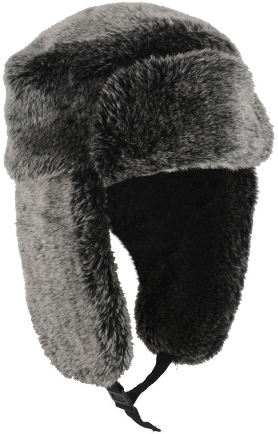 Forever 21 Smokey Faux Fur Trapper Hat