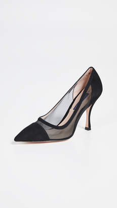 65307215b Stuart Weitzman Black Pumps - ShopStyle