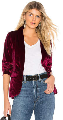 by the way. Miram Velvet Blazer