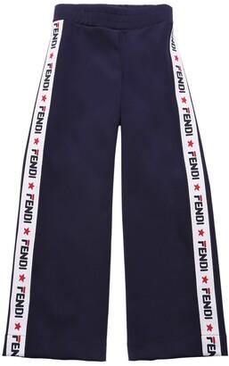 Fendi Mania Triacetate Jacquard Pants