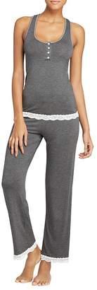 Honeydew Racerback Long Pajama Set