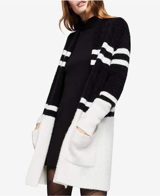 BCBGeneration Long-Sleeve Striped Cardigan