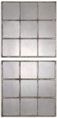 Uttermost Derowen Squares Mirror
