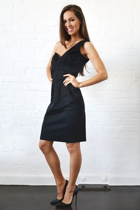 Lauren Conrad Ashley Dress in Black $198 thestylecure.com