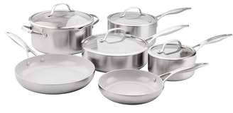 Green Pan Venice Pro 10-Piece Multilayer Stainless Steel Ceramic Nonstick Cookware Set