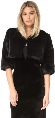 Adrienne Landau Little Fur Jacket
