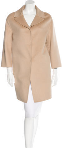 prada Prada Knee-Length Cocoon Coat