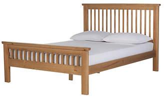 Argos Home Aubrey Kingsize Bed Frame - Oak Stain