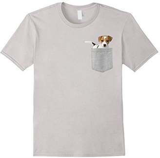 Dog in Your Pocket Jack Russell Terrier t shirt shirt