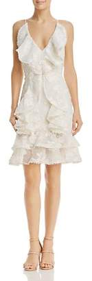 Keepsake Shine Ruffle Dress