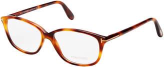 Tom Ford FT5316 Tortoiseshell-Look Oval Optical Frames