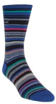 Calvin Klein Striped Barcode Sock