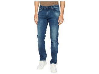 Mavi Jeans Marcus Slim Straight in Forest Blue/White Edge