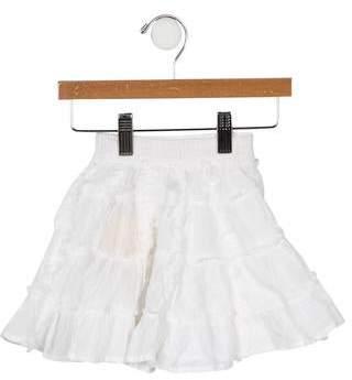 Catimini Girls' Tiered Circle Skirt w/ Tags