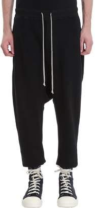 Drkshdw Drawstring Black Cotton Pants