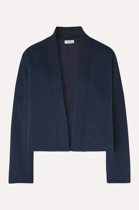 Vaara Collette Stretch-jersey Bomber Jacket - Navy