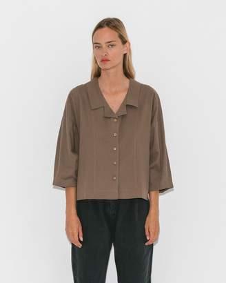 Modern Heritage Ilana Kohn Umber Twill Harrison Shirt