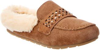 BearPaw Tilley Suede Moccasin Slipper