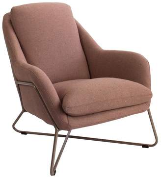 Tribeca Darcy And Duke Armchair Clay With Champagne Frame