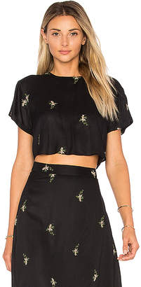 House of Harlow 1960 x REVOLVE Rylan Crop in Black $138 thestylecure.com