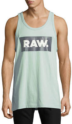 G Star Graphic Print Jersey Tank