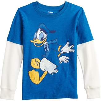 Disneyjumping Beans Disney's Donald Duck Boys 4-12 Mock Layer Graphic Tee by Jumping Beans
