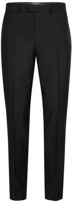 Black Skinny Fit Tuxedo Pants $130 thestylecure.com