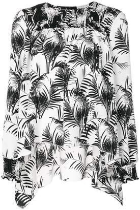 Sonia Rykiel palm print top