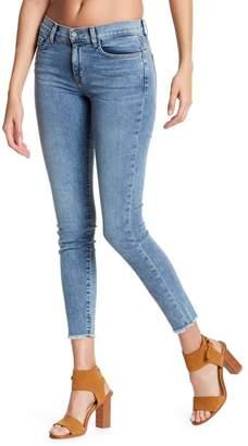 Ralph Lauren Siwy Denim Skinny Leg Undone Hem Jeans