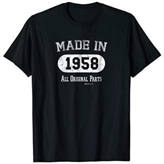 PeakTee Made in 1958 Retro Country Style 60th Birthday Shirt